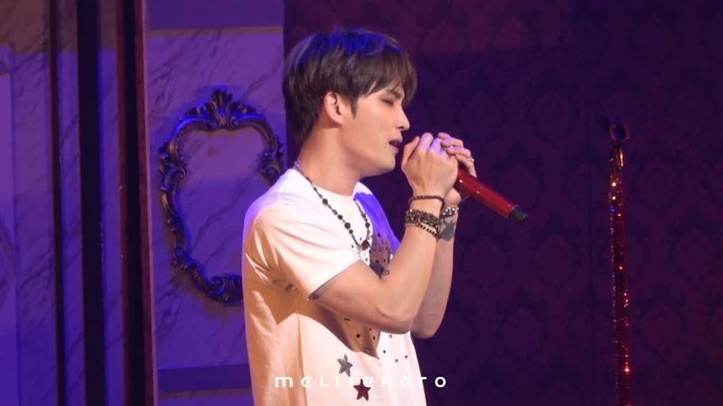 181102 김재중 JAEJOONG Hall Live Tour 2018 ~SECRET ROAD~ Wherever You Are