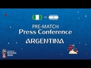 FIFA World Cup™ 2018: NGA vs ARG: Argentina - Pre-Match Press Conference