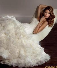 перешить свадебное платье под 18 век