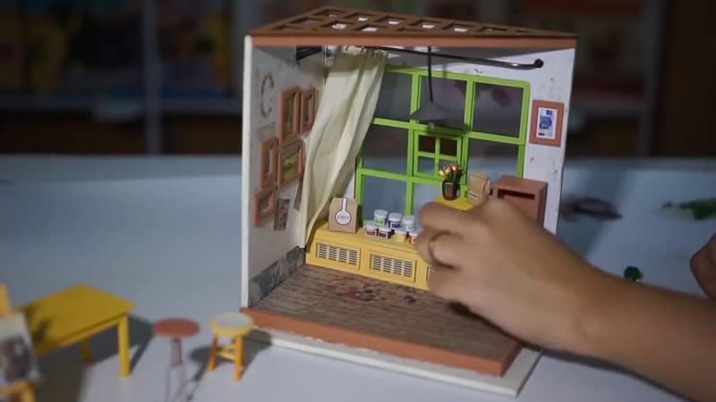 Румбокс - домик в миниатюре!