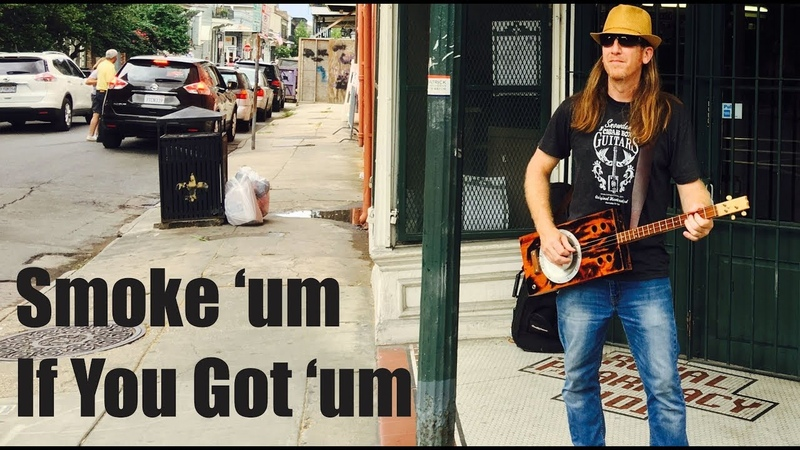Smoke 'um If You Got 'um - Southern Cigar Box Guitar Thunder by Mike Snowden