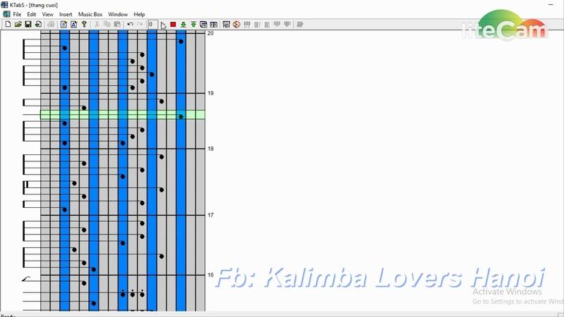 Hướng dẫn Kalimba - Ktabs Thằng cuội ( Tôi thấy hoa vàng trên cỏ xanh )