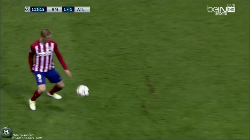 Real Madrid Vs Atletico Madrid 2nd Half Extra Time Ahdaf By AmerGaladari