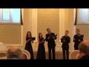 I Международный хоровой конкурс фестиваль имени М Г Климова Квинтет Атмосфера Ф Рамо La nuit