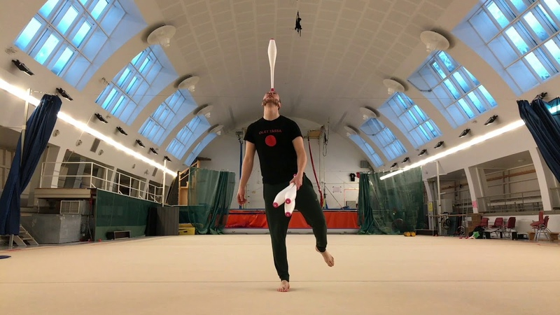 Juggling Exercise for Balance