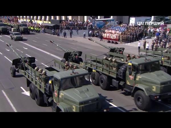 Військова техніка на параді до Дня Незалежності України. 24.08.2018