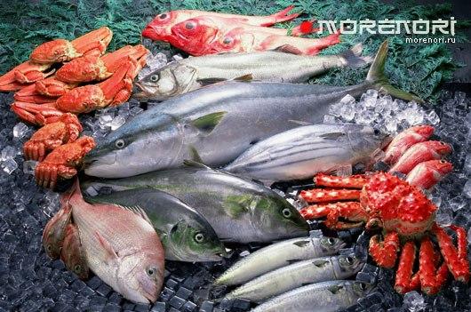 Свежая рыба и морепродукты это ваше здоровье и