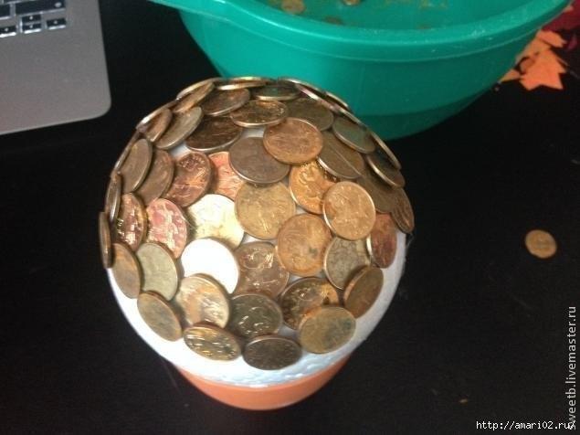 Золотые монеты своими руками 96