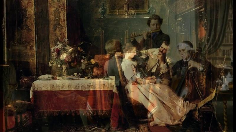 В.А.Моцарт. Квартет для флейты и струнных №1 ре мажор, К.285, 2 часть.