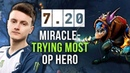 Miracle Trying MOST OP Carry Hero of 7 20 Patch Slark Rampage like M GOD Dota 2