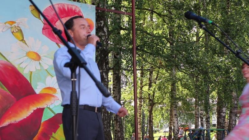 Выступление мужского ансамбля. Юбилей посёлка Яр. 4 августа 2018