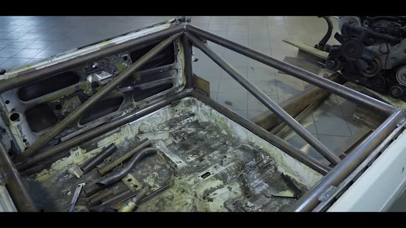 [iling show] ВАЗ-2108 с мотором V8 и подвеской AUDI