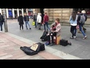 Coldplay - Adventure of a Lifetime - Busking in Glasgow | Andrew Duncan Cover