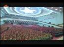 조선민주주의인민공화국창건 66돐경축 중앙보고대회