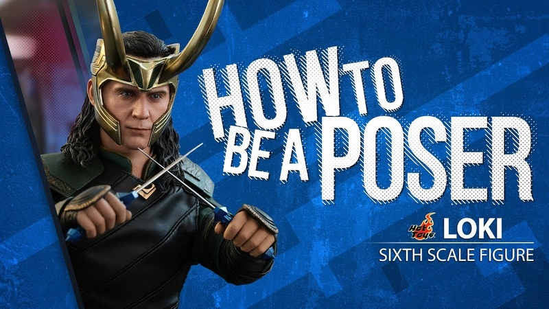 Loki Sixth Scale Figure by Hot Toys - How to be a Poser