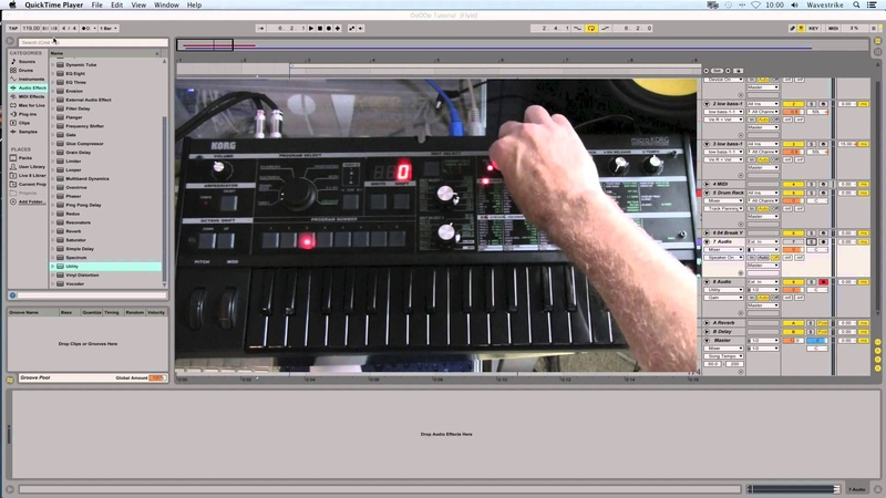 Microkorg Tutorial: Patch Creation, Sub and Lead from OoOOo