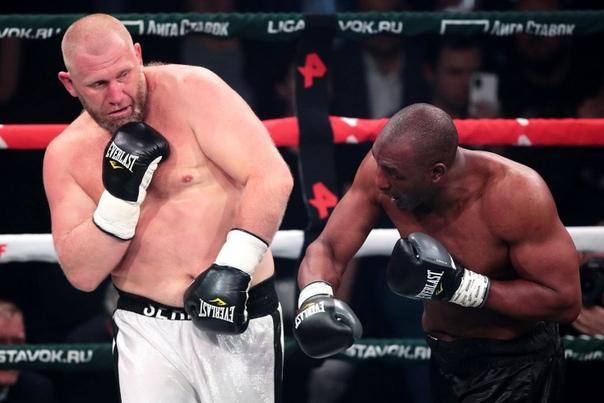 Сергей Харитонов vs боксёр, когда-то побеждавший самого Майка...