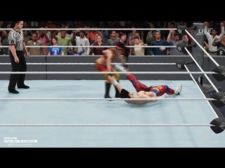 WWE 2K18 Bayley Vs TJP