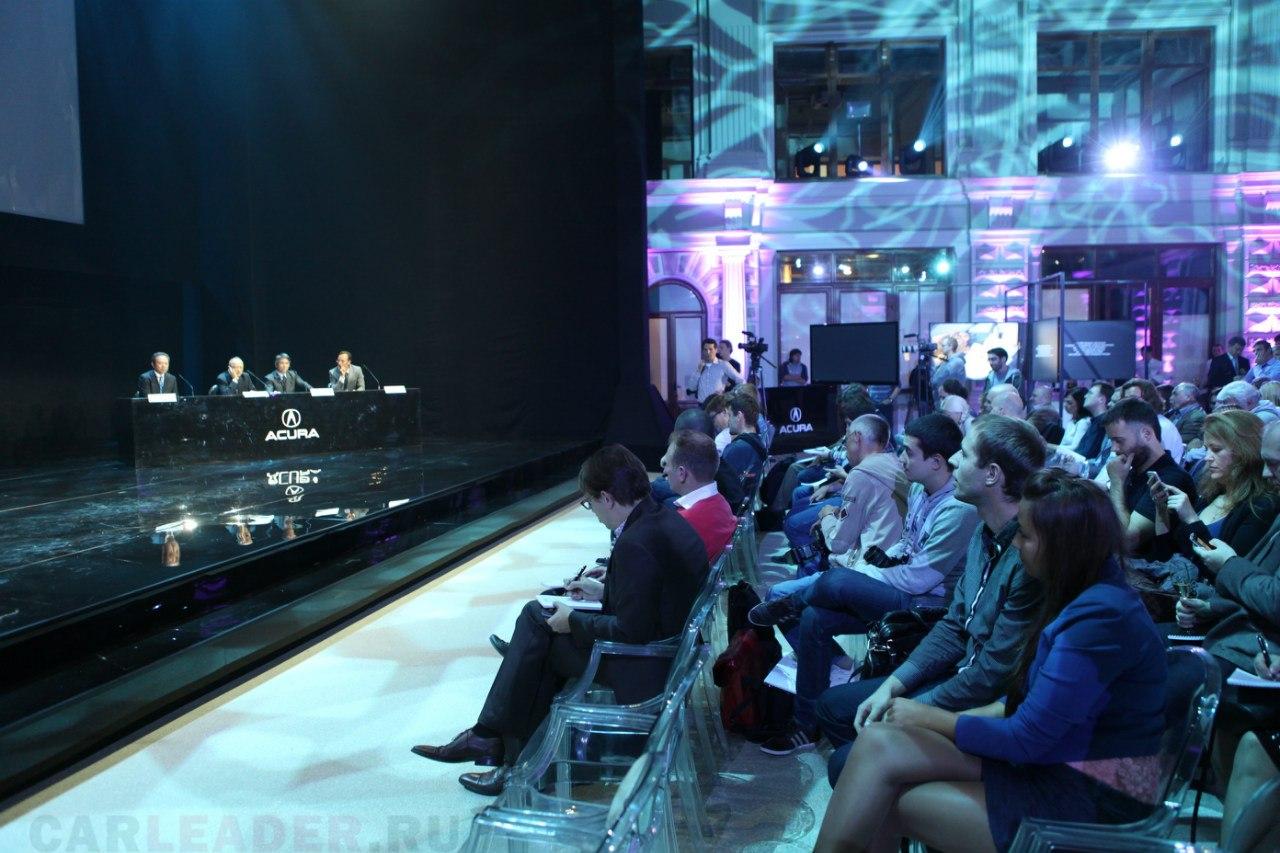 Презентация Акура в Москве
