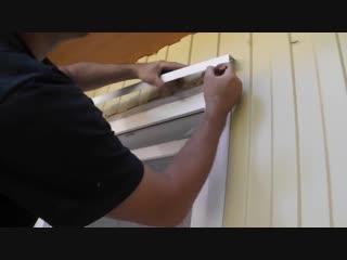 Как обшить пластиковые окна с улицы без отливов (в загородном доме)