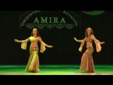 Amazing belly dancing duet - Oriental dance school of Amira Abdi 23433