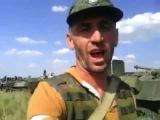 На границе с Украиной находится колонна боевой техники Росси, готовая к вторжению