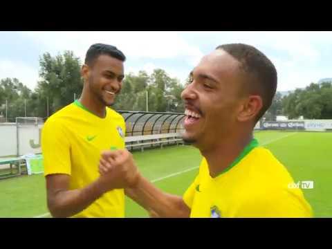 CBF TV com a BASE: Seleção Brasileira Sub-20 2 x 0 México