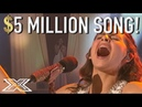 13 Y.O Finalist Carly Rose Sonenclar Performs Her 5 Million Dollar Song!   X Factor Global