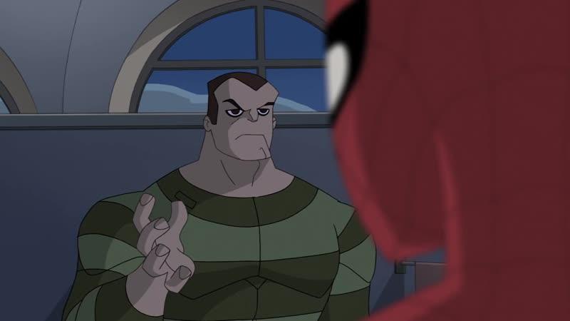 Грандиозный Человек Паук 2 Сезон 5 Серия Первые Шаги