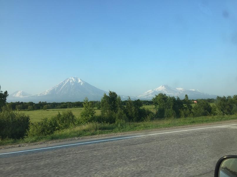 Отчет Камчатка. Вулканы