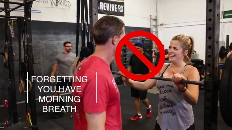 Funny CrossFit Etiquette What Not to do at CrossFit