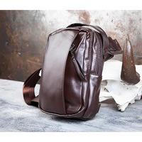 5bd76968a88c BAG452-2 Коричневый рюкзак с одной лямкой через плечо
