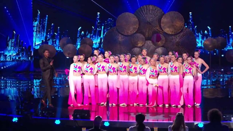America's Got Talent S09E10 Quarterfinals Round 1 Dance Trouple Jasmine Flowers