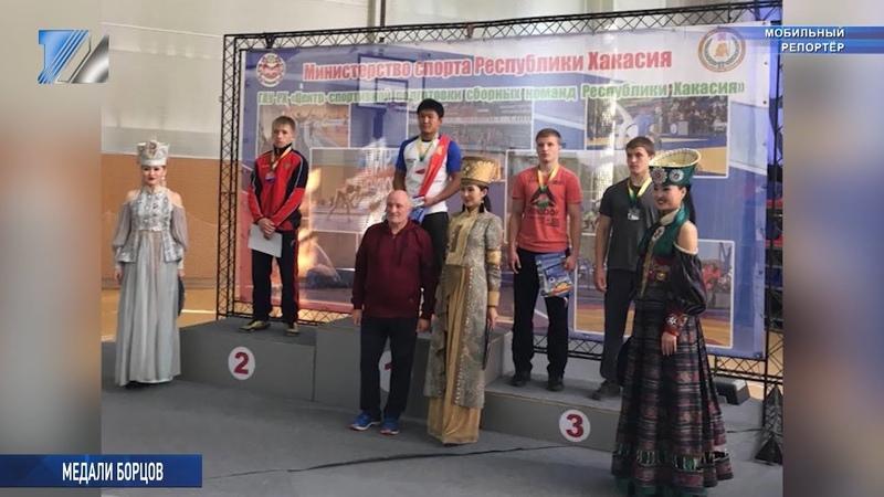 Междуреченские борцы вернулись с турнира с победой