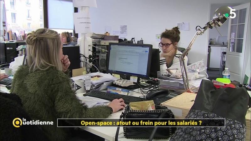 Travailler en Open space : atout ou frein pour les salariés ? - La Quotidienne