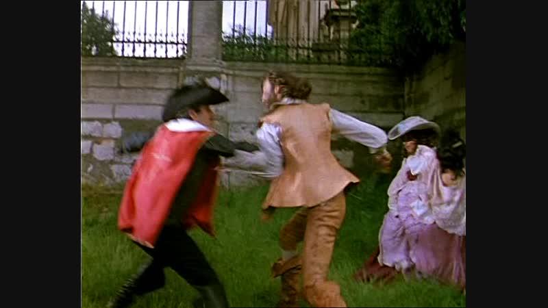 Д'Артаньян и три мушкетера 1978г 2 серия