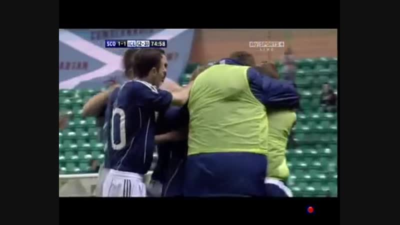 Sensational Chris Maguire goal for Scotland Under 21s!