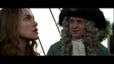 Губернатор Суонн и Командор Норрингтон спасают Джека и Элизабет. HD