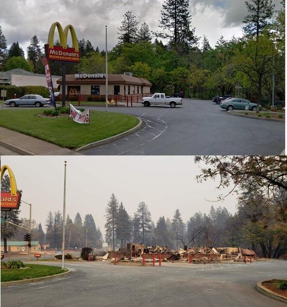 Калифорнийский Рай превратился в пепел. Как это было Небывалые по масштабам пожары бушуют в Калифорнии. Если вы ищите Ад, то сейчас он на западном побережье США. От огня страдают животные,