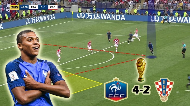 France Becomes The New World Champions   France vs Croatia 4-2   Tactical Analysis