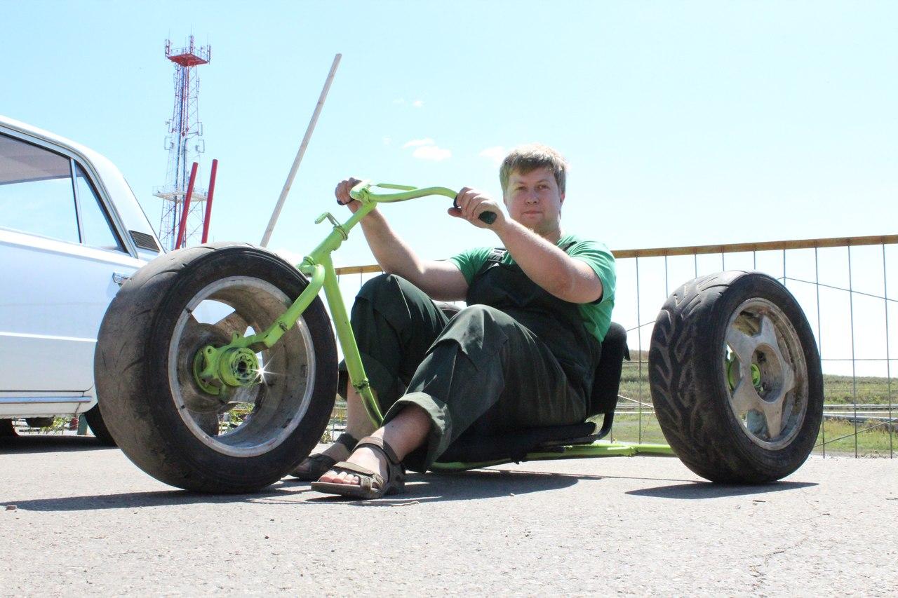Как сделать колесо с педалями