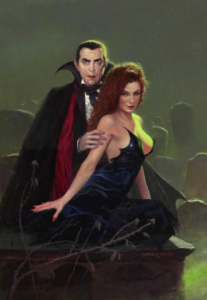 Граф Дракула Вампиры, наравне с зомби и оборотнями, излюбленная тема кинорежиссеров, которые стараются напугать зрителя хоррором или окунуть в романтическую историю, как это было сделано в
