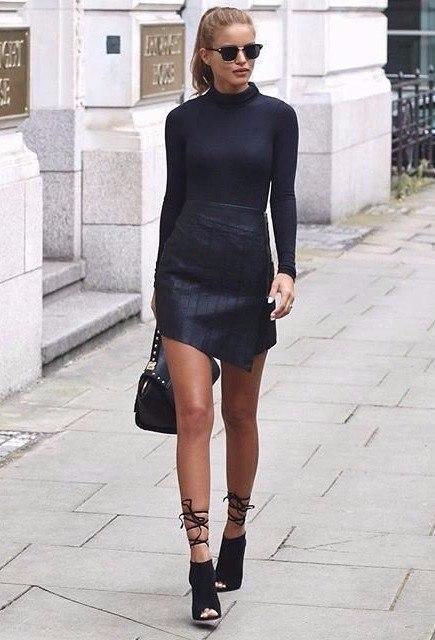 Street Style. Black