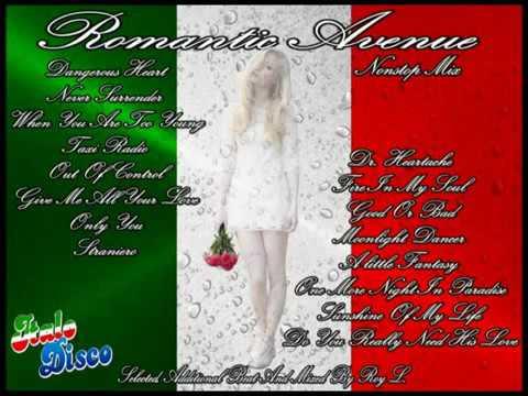 ROMANTIC AVENUE Nonstop Mix (Italo Disco)