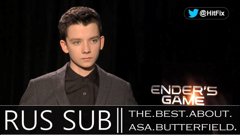 Asa Butterfield on the spectacular battles in 'Ender's Game