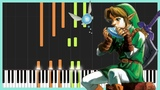 Opening Title (Extended) - The Legend of Zelda Ocarina of Time Piano Tutorial Zebeldarebel