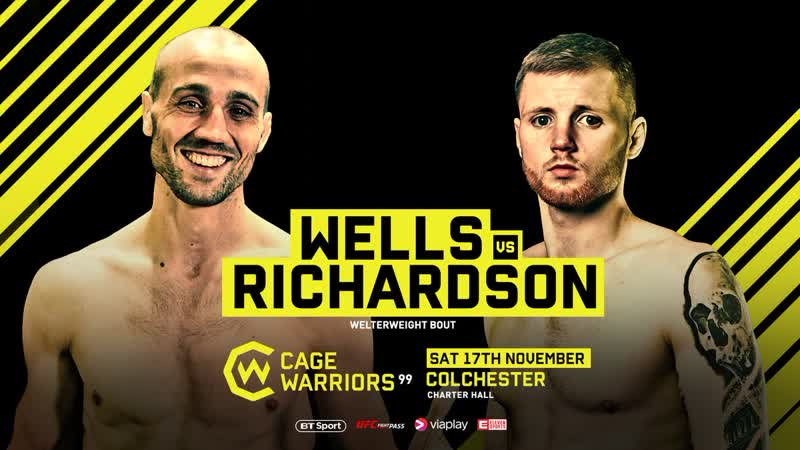 CW99 Jamie Richardson defeats Phill Wells via KO TKO in Round 1