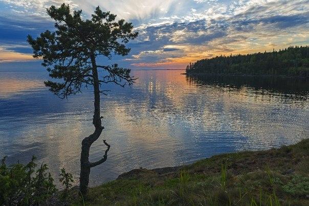 Ладожское озеро. Валаамский архипелаг. Россия