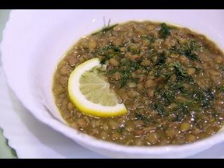 Постный суп из чечевицы .Рецепты проще простого.