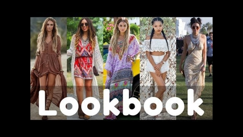 Summer BOHO CHIC Outfit Ideas Fashion Trends 2018   Boho Style Lookbook